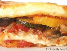 This is THE BEST Veggie Lasagne I have ever tasted.  Seriously...try it!!