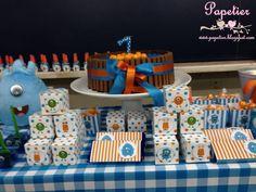 Festa Monstrinhos #detalhes #papetier