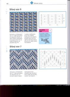 УЗОРЫ - Svetlana Gory - Álbuns da web do Picasa Crochet Diagram, Crochet Chart, Crochet Motif, Crochet Stitches Patterns, Stitch Patterns, Handicraft, Hand Stitching, Crochet Projects, Crochet Ideas