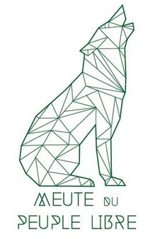 Branding Meute du Peuple Libre 32BW Sombreffe by Obsomer Jérémie, via Behance Geometric Drawing, Geometric Shapes, Geometric Wolf, Polygon Art, Tape Art, Easy Drawings, Diy Art, Art Projects, Stencils