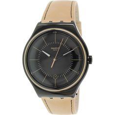 Swatch Men's Irony YWB400 Brown Swiss Quartz Watch