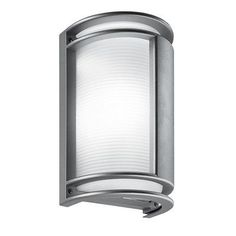 LBL Lighting Nikko 1 Light Outdoor Flush Mount Finish: Metallic Gray, Bulb Type: 1x13W quad electronic Compact Flourescent