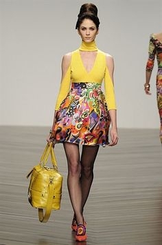 PPQ | THE BEST LOOKS FROM LONDON FASHION WEEK: FALL 2013 #shopUNIQUES.com