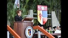 Discurso Alejandrina Germán, graduación Pontificia Universidad Católica ...