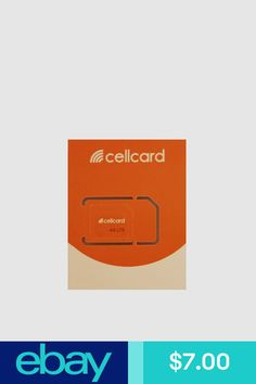 Cellcard Sim Cards #eBay Cell Phones & Accessories