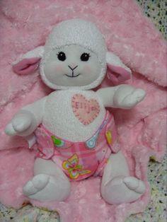 PDF PATTERN Baby Sock Lamb