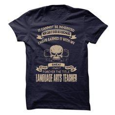 Proud Be A Language Arts Teacher T Shirts, Hoodies. Get it now ==► https://www.sunfrog.com/No-Category/Proud-Be-A-Language-Arts-Teacher.html?41382 $23