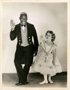 Bill Robinson & Shirley Temple