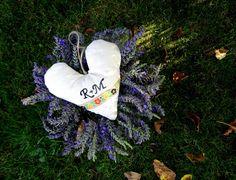 Levander heart wedding decoration