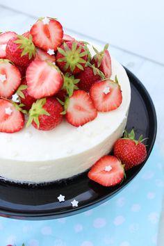 No Bake Cheesecake mit Oreoboden