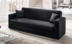 #divano in #pelle #nero #sofa #leather #black #livingroom #home