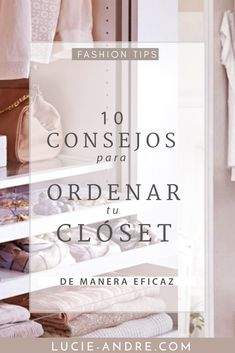 como organizar tu closet Minimalist Closet, Minimalist Fashion, Organizar Closets, Home Management Binder, Girl Boss Quotes, Wooden Stools, Fashion Capsule, Basic Style, Home Hacks