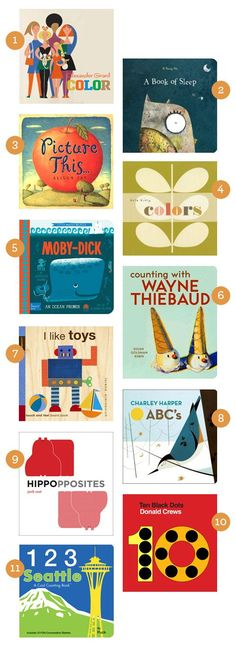 We only have 2. I need to change this. Board Books for Hipster Babies  |  Design Mom