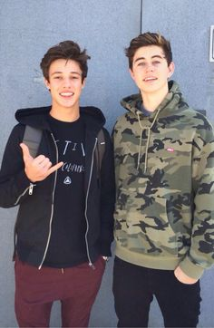 Cameron Dallas and Nash Grier