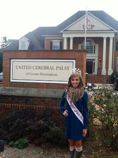 Miss Teen International 2012, Caroline Crowley touring the United Cerebral Palsy of Greater Birmingham facility