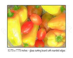 Cutting Board Trivet Kitchen Counter Art Glass by CasaDeVero