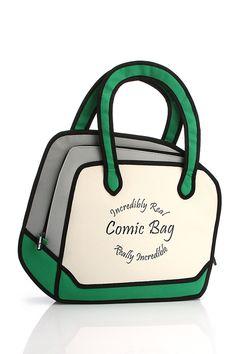 Comic Bags , Eğlenceli Çantalar , Çanta, Bag, www.markalove.com