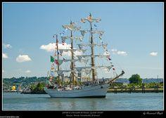 parade a l'Armada de Rouen