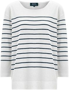 Pin for Later: Is Riviera Chic the Most Stylish Summer Look? Mais Oui A.P.C. Nautical Stripe Lagune Top A.P.C. Nautical Stripe Lagune Top (£90)