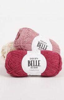 Mostruário de cores para o DROPS Belle ~ DROPS Design