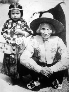 Unknown, Paul Tom - Kalispel - no date Roseanne's comment: I am going to assume these two are both of the Flathead/Kootenai Nations.