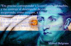 Frase de Manuel Belgrano