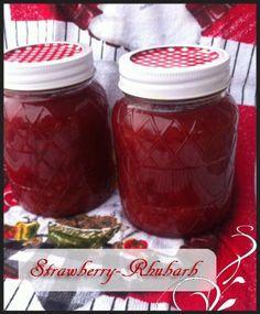 strawberryrhubarbjam