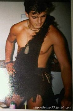 previous pin said: During college, Nathan Fillion used to deliver singing telegrams dressed as Tarzan.