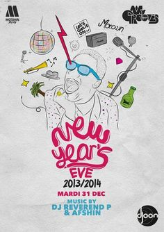 New Year's Eve | Djoon | Paris | https://beatguide.me/paris/event/djoon-new-year-s-eve-20131231/poster/