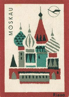 Russian matchbox label by Shailesh Chavda, via Flickr