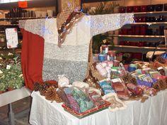 impressie van de winterfair in Roden. komende zaterdag 6 december is willekleurige draden te vinden op de streekmarkt op het landgoed Nienoor in Leek. De toegang is gratis op deze overdekte markt