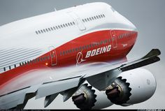 Boeing the company's first pasenger variant flies the colours of a new dawn for this classic and celebrated commercial airliner platform Boeing 747 8, Boeing Aircraft, Passenger Aircraft, Jets, Thermal Spraying, Jumbo Jet, Air Force, Commercial Aircraft, Civil Aviation