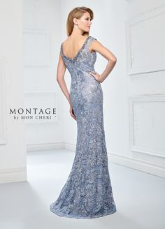 433674c2528 Montage By Mon Cheri 218901 - Fall in love with this stunning sleeveless  embroidered overlace fit