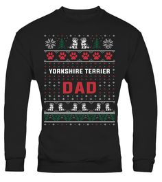 Yorkshire Terrier Mom Christmas Sweater