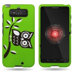 CoverON® Hard Slim Design Case for Motorola Droid Mini - with Cover Removal Pry Tool - Black White Owl CoverON Black And White Owl, Mobile Gadgets, Design Case, Phone, Mini, Slim, Random, Cover, Telephone