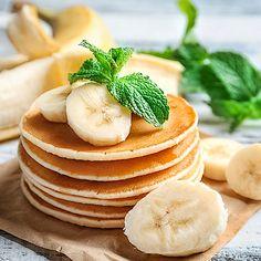Schnelle Low Carb 3-Zutaten-Bananen-Pancakes