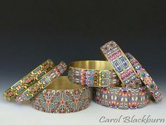 Super bangles by Carol Blackburn