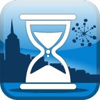 Countdown Timer Pro App iconI use this world clock friend is overseas and countdown time for when my friend is overseas and is going to return