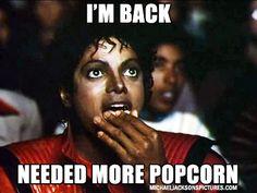 Michael Jackson Popcorn Meme - Just Here For The Comments - Michael Jackson Popcorn Meme