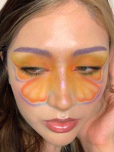 Edgy Makeup, Eye Makeup Art, Makeup Goals, Skin Makeup, Makeup Inspo, Makeup Inspiration, Makeup Tips, Beauty Makeup, Cool Makeup Looks