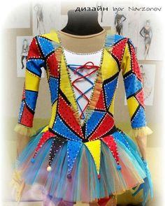 """Платье """" Коломбина""""#фигурноекатание #платьядляфигурногокатания"""