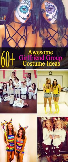 Awesome Girlfriend Group Costume Ideas.