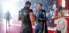 Tom Hiddleston and Chris Hemsworth Behind The Scenes ~ Thor (2011) vs Thor Ragnarok (2017)