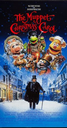 Directed by Brian Henson.  With Michael Caine, Dave Goelz, Steve Whitmire, Jerry Nelson. The Muppet characters tell their version of the classic tale of an old and bitter miser's redemption on Christmas Eve.