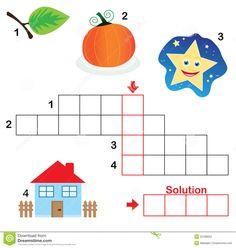 crucigramas para niños - Buscar con Google