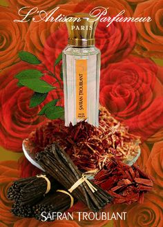 L'artisan's Safran Troublant, Olivia Giacobetti. My winter day perfume / signature.