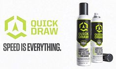 Quick Draw holster lubricant Custom Holsters, Kydex Holster, Quick Draw, Firearms, Hold On, Weapons, Naruto Sad, Revolvers, Shotguns