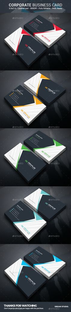 Business Card - Business Cards Print Templates Download here: https://graphicriver.net/item/business-card/19602475?ref=classicdesignp