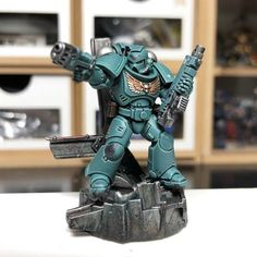 Warhammer Time's the Charm - The Something Awful Forums Warhammer 40k Figures, Warhammer Paint, Warhammer Models, Warhammer 40k Miniatures, Warhammer 40000, Sons Of Horus, Sci Fi Miniatures, Space Wolves, Star Trek Voyager