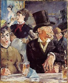 Edouard Manet - Cafe-concert